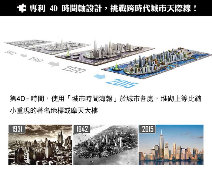 (複製)4D Cityscape|4D 立體城市拼圖 - 拉斯維加斯 930片 +