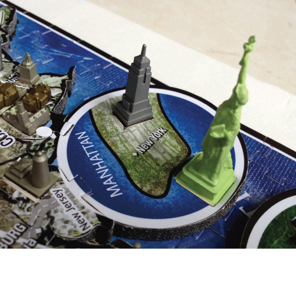 4D Cityscape 4D 立體城市拼圖 - 美國 950+