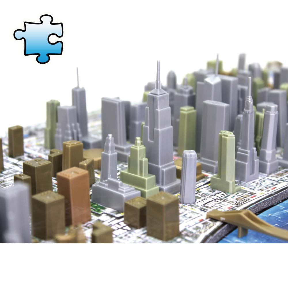4D Cityscape|4D 立體城市拼圖 - 紐約 900+