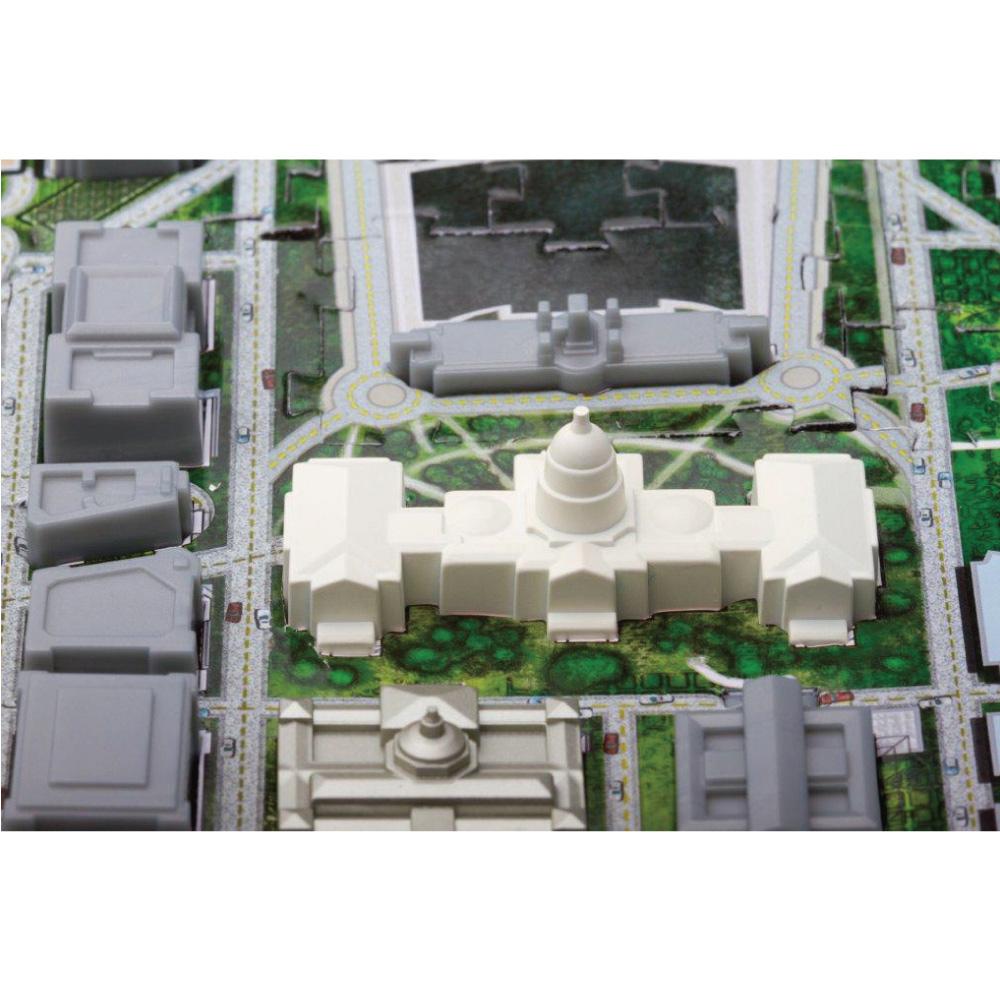 4D Cityscape|4D 立體城市拼圖 - 華盛頓 1100片 +