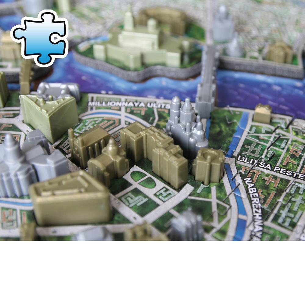 4D Cityscape|4D 立體城市拼圖 - 聖彼得堡 1245片 +