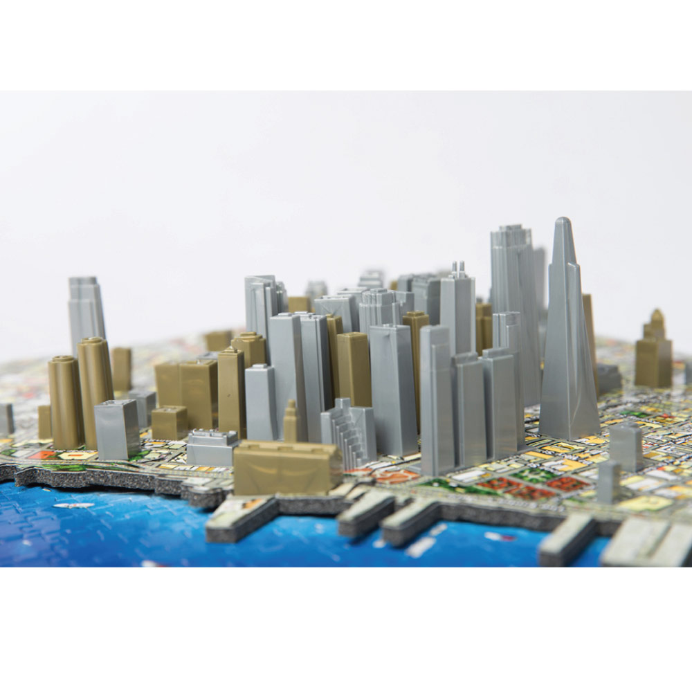 4D Cityscape 4D 立體城市拼圖 - 舊金山 1100片 +