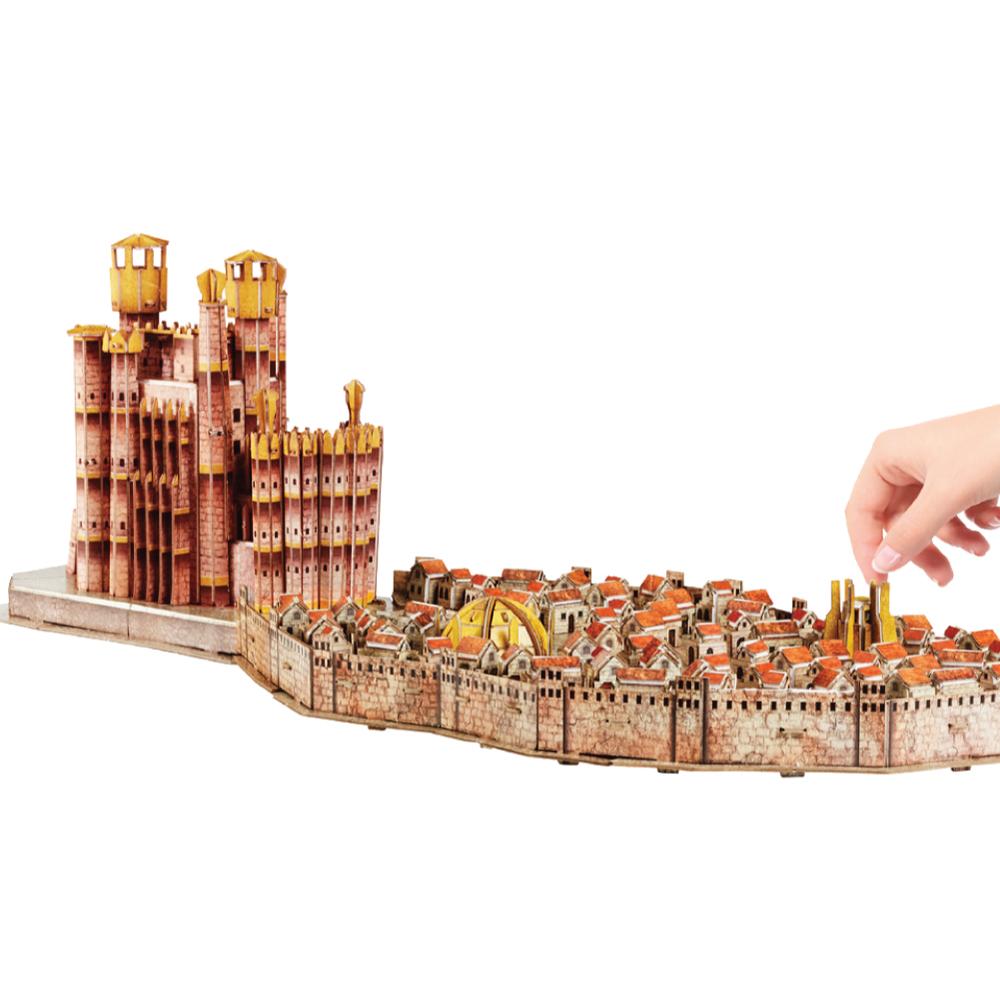 4D Cityscape|3D 模型拼圖 冰與火之歌 君臨城 260 片 +