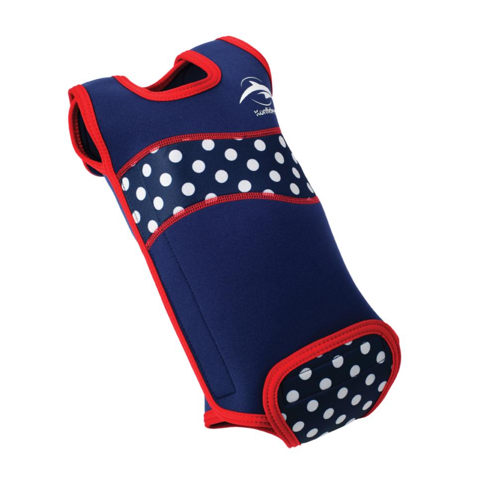 康飛登 Konfidence|Babywarmas 嬰兒保暖泳衣 點點藍
