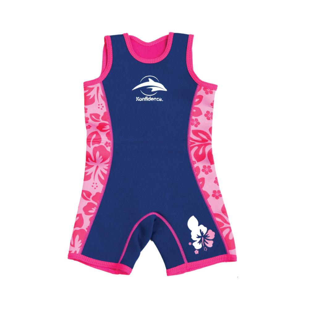 康飛登 Konfidence|Warma wetsuits 寶寶防寒衣 粉紅花瓣
