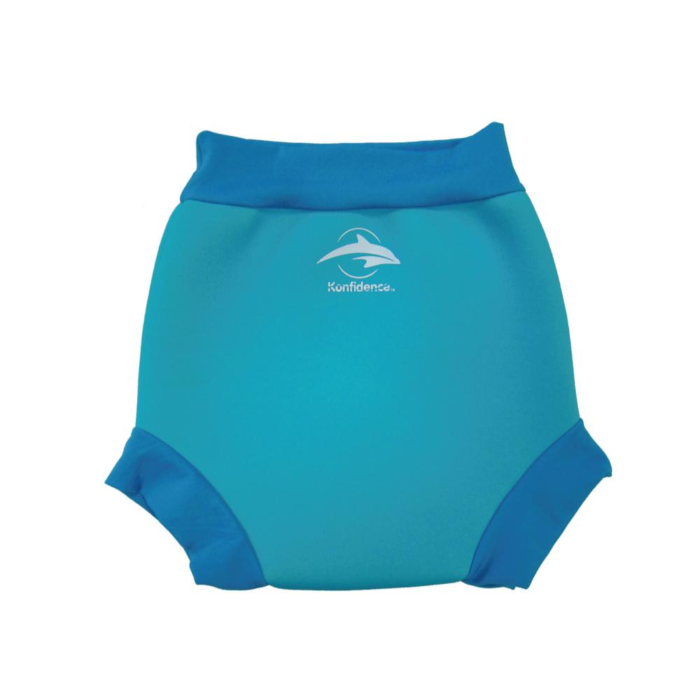 康飛登 Konfidence 嬰幼兒游泳專用外層加強防漏尿布褲 亮藍