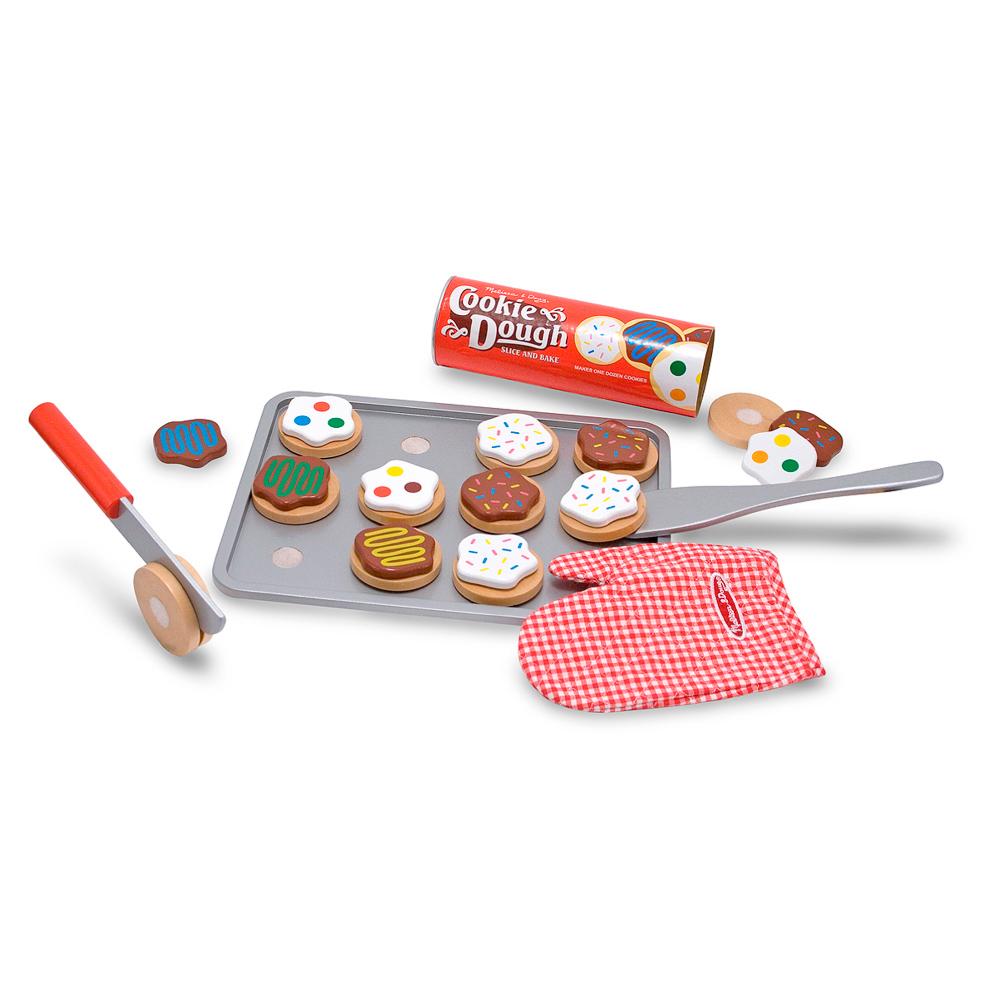 美國瑪莉莎 Melissa & Doug   玩食趣 - 木製烤餅乾遊戲組