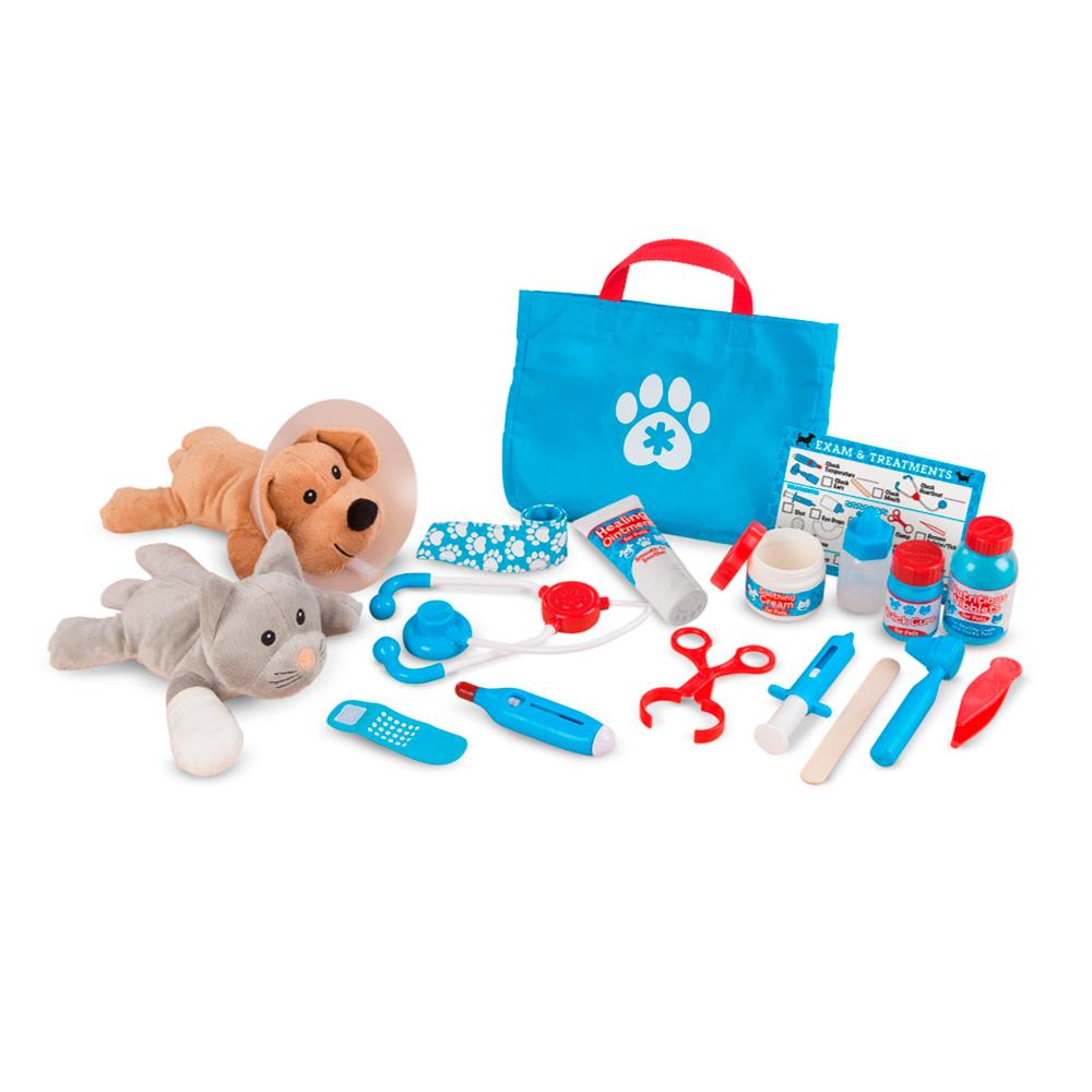 美國瑪莉莎 Melissa & Doug | 角色扮演 - 寵物診所治療遊戲組