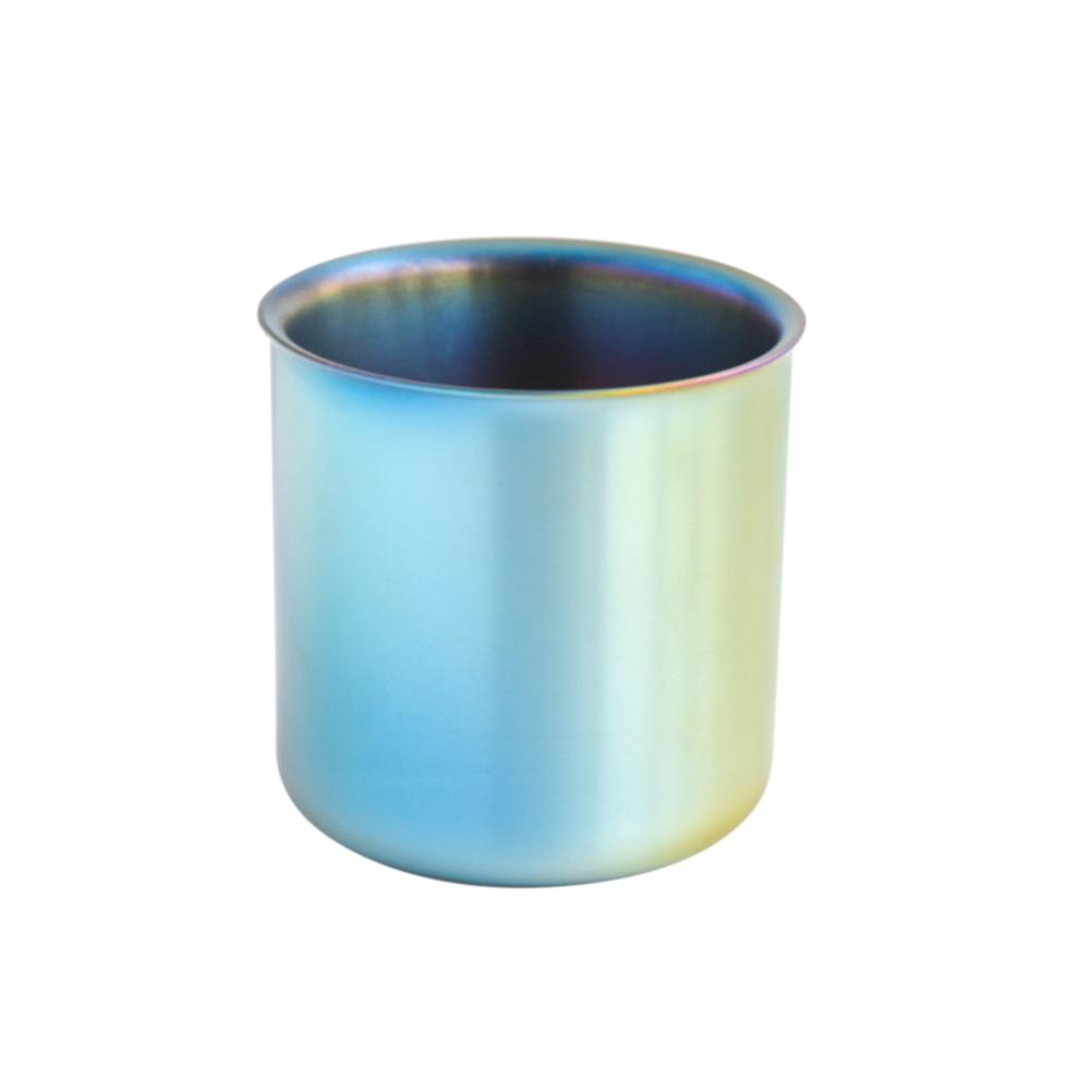 TiANN鈦安 純鈦雙層品茗杯(極光) 250ml