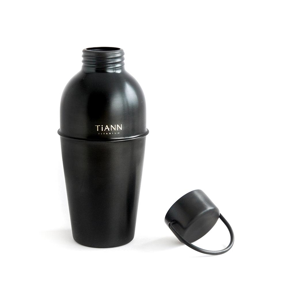 TiANN鈦安|純鈦寬口酒水壺-尊爵黑 750ml (贈提袋)