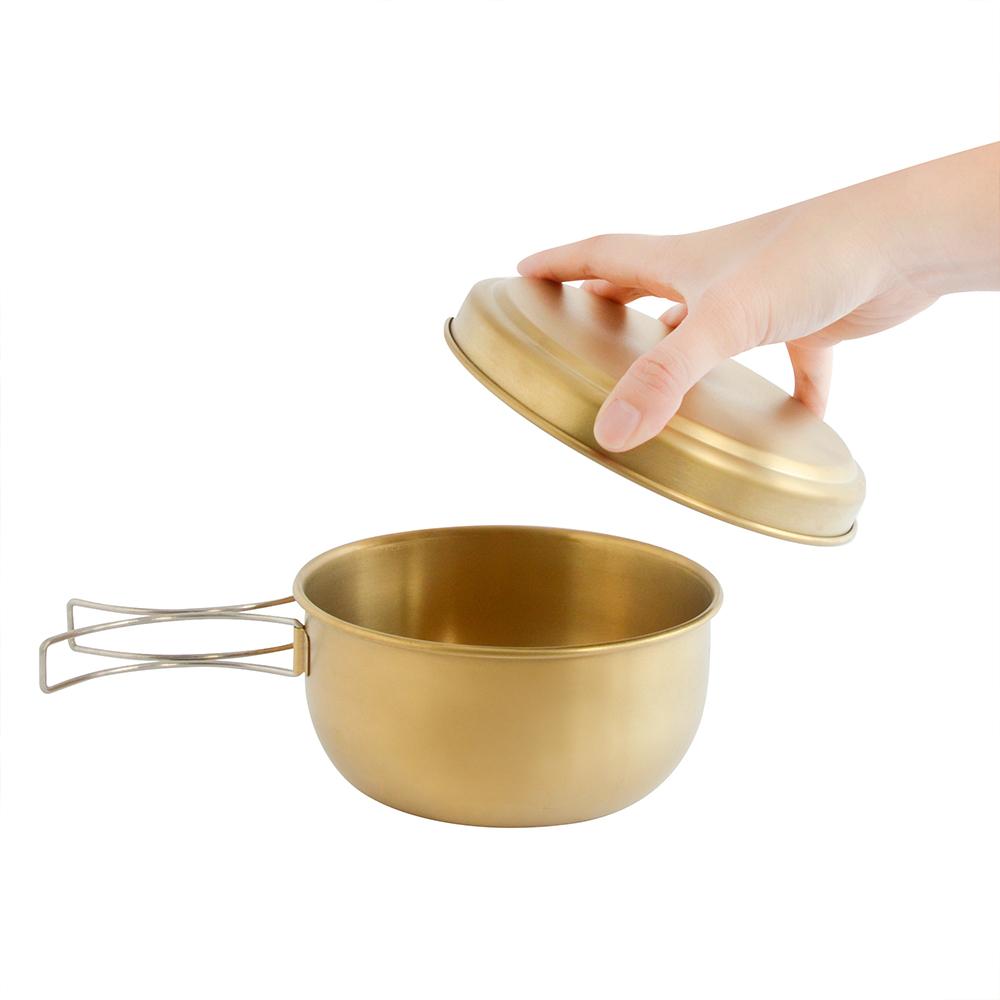 TiANN鈦安|鈦聰明 純鈦便當盒大碗含蓋750ml