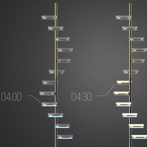 EMspec|Swirl Clock (立鐘.旋)