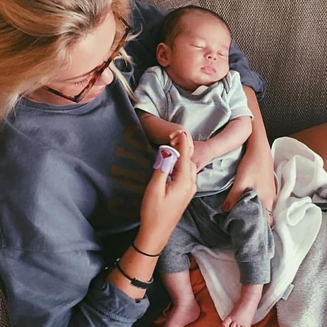 英國Baby Nails|大拇哥嬰兒磨甲器-新生兒&6m超值組