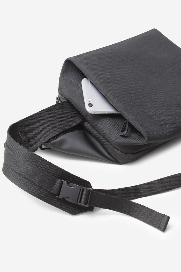 (複製)COTE&CIEL|RISS OBISIAN BLACK 輕量防潑水機能側背包 No.28622