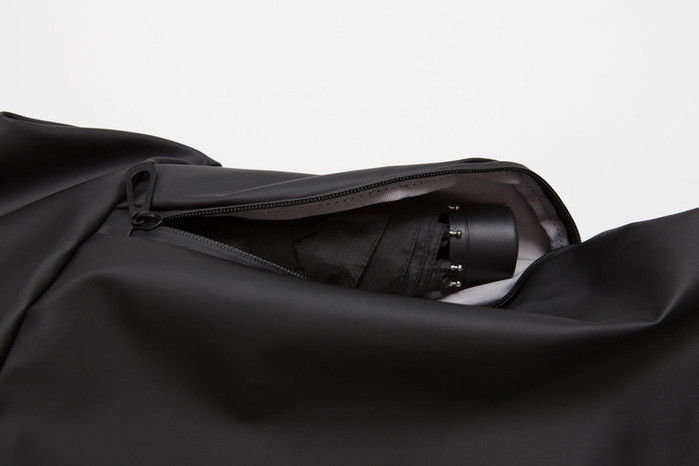 (複製)COTE&CIEL|SORMONNE OBSIDIAN BLACK 輕量防潑水後背包- No.28676