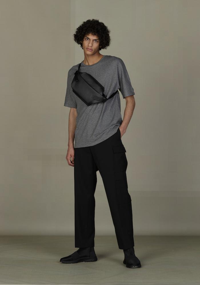 (複製)COTE&CIEL|ORIL LARGE OBSIDIAN BLACK 輕量防潑水後背包- No.28679