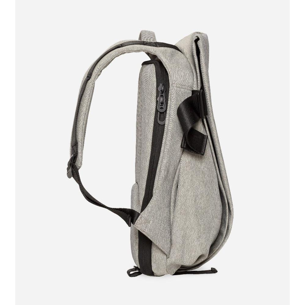 COTE&CIEL|ISAR L ECO YARN Gray Melang環保尼龍經典後背包 - No.27702