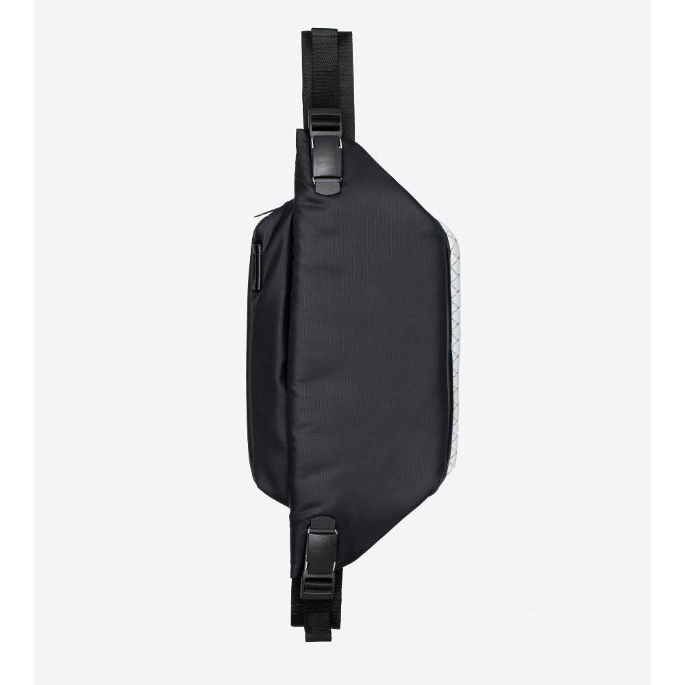 COTE&CIEL|ISARAU MIMAS BLACK 科技感腰側包- No.28721