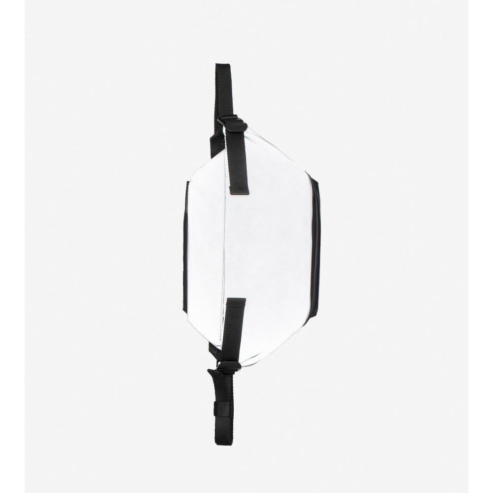 COTE&CIEL ISARAU S MIMAS GREY REFLECT 科技感反光腰側包- No.28722