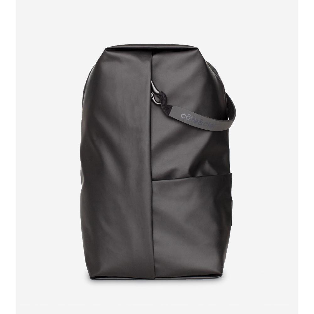 COTE&CIEL SORMONNE OBSIDIAN BLACK 輕量防潑水後背包- No.28676