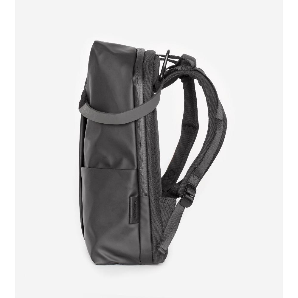 COTE&CIEL|SORMONNE OBSIDIAN BLACK 輕量防潑水後背包- No.28676