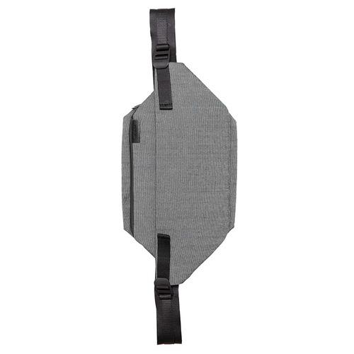 COTE&CIEL|Isarau Steel Grey No.28809 ISARAU 金屬質感腰側包