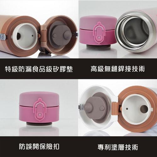 宜卡逽 316不鏽鋼保溫瓶-故宮授權-三陽開泰-500ML