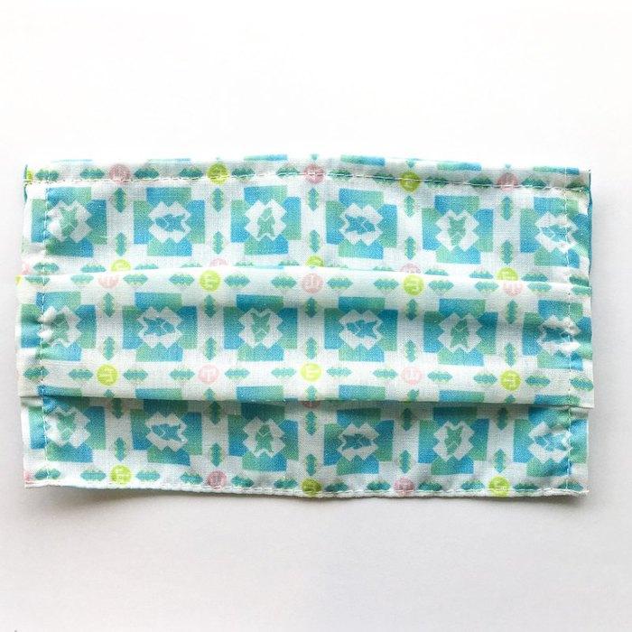 捲毛力卡QUEMOLICA| 桃花爆棚顏質大提升布口罩套- 福爾摩沙