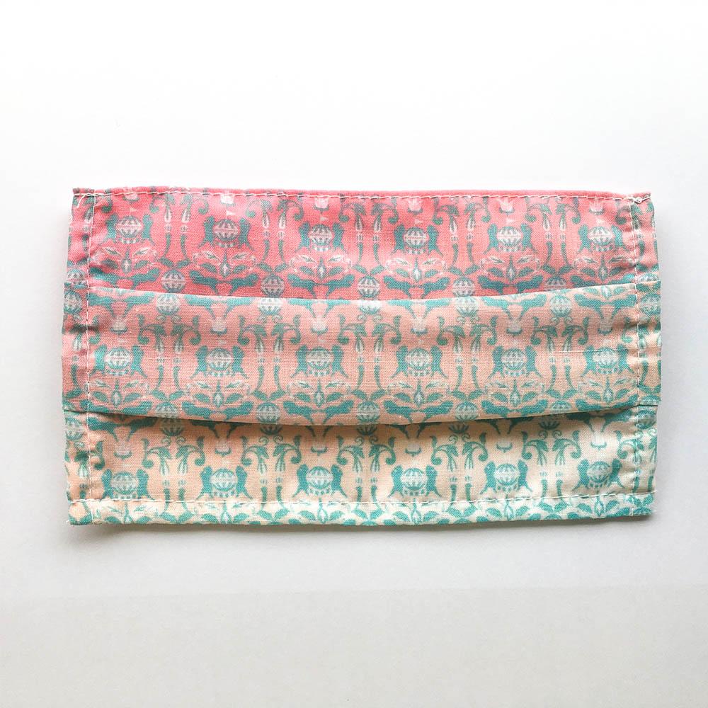 捲毛力卡QUEMOLICA|花磚布口罩套-旋轉木馬