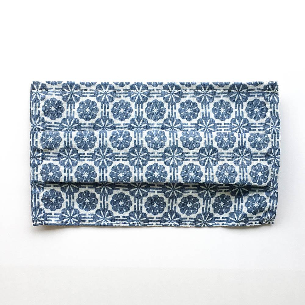 捲毛力卡QUEMOLICA|花磚布口罩套-上善若水