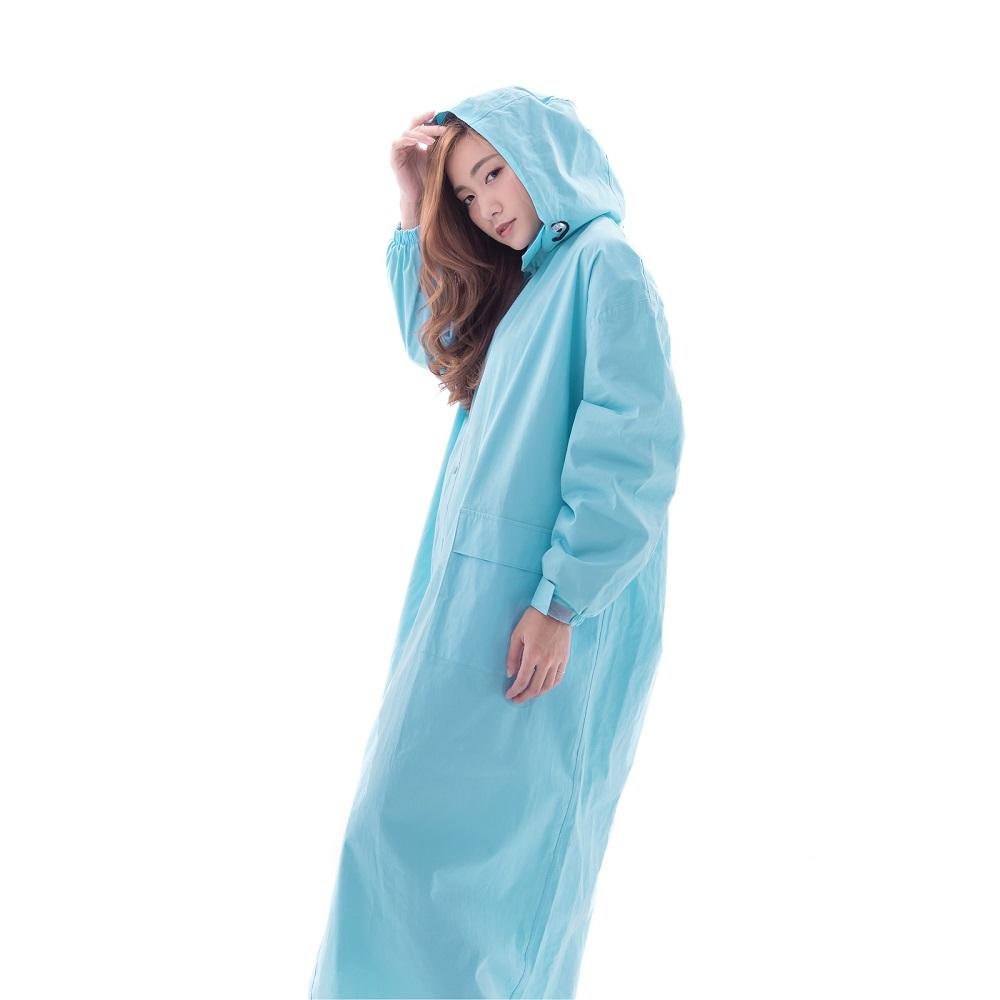 賀拉碩|小棉1號 雨衣 (島嶼天堂藍) 4XL