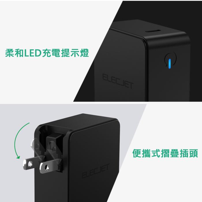 美國第一品牌 60W USB-C 供電轉接器
