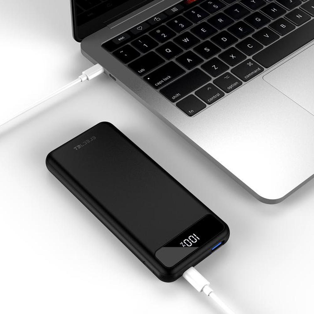 【集購】ELECJET 全球首款石墨烯快充行動電源 9000mAh (USB C PD配置)