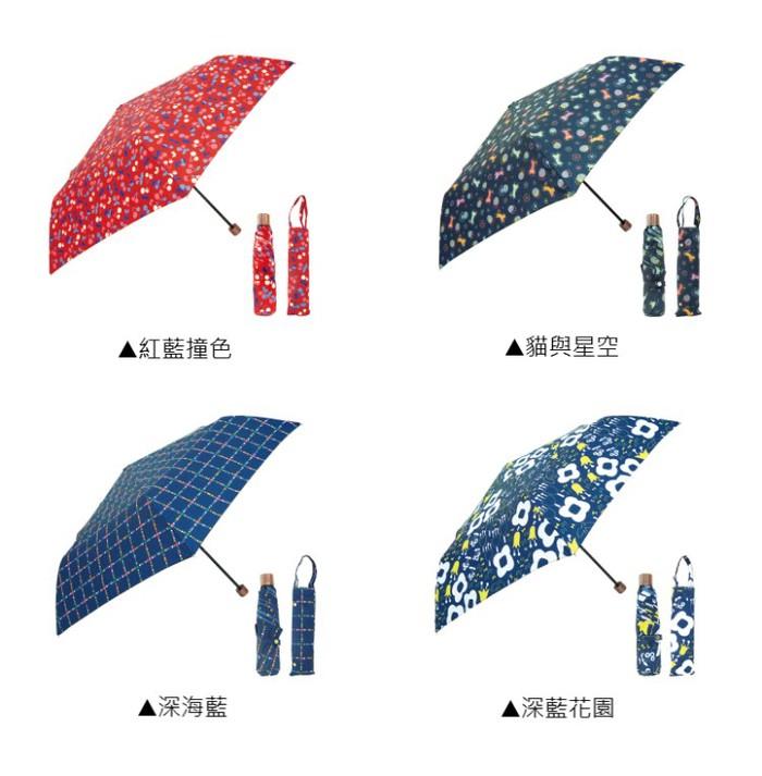 (複製)日本Prairie Dog|晴雨兩用抗UV摺疊收納傘+多功能收納傘袋-心形(黑)