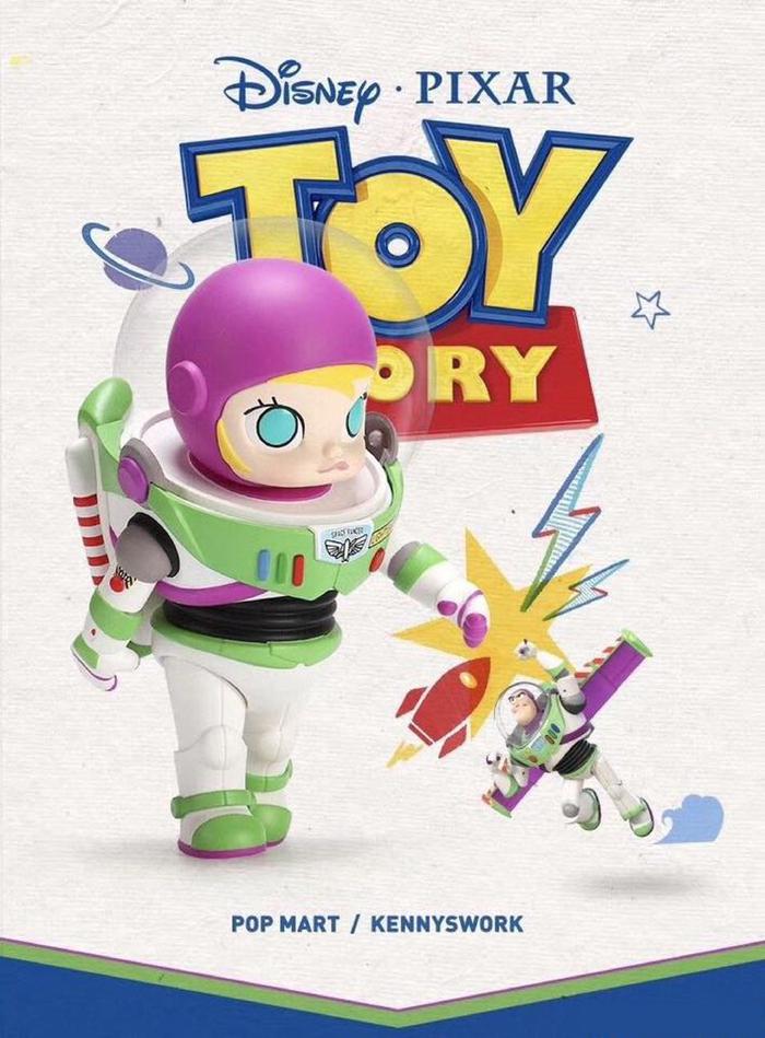 Molly茉莉女孩|巴斯光年 玩具總動員聯名大型公仔
