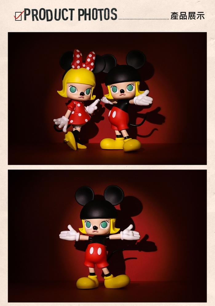 Molly 茉莉女孩|Molly X Mickey 米奇 迪士尼聯名大型公仔