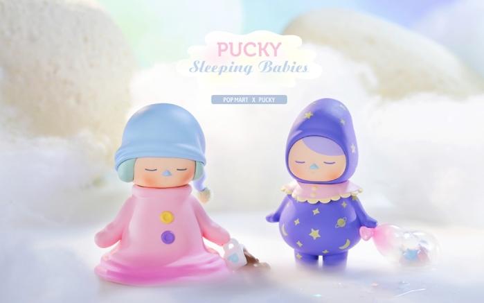 Pucky 畢奇精靈睡眠寶寶系列公仔盒玩(二入隨機款)