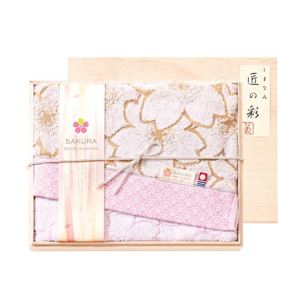 日本Prairie Dog|今治匠彩白櫻精緻禮盒組(浴巾X1)