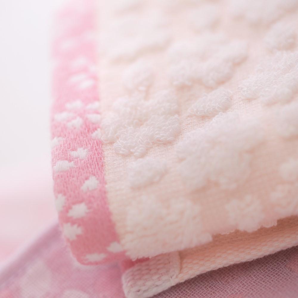 日本Prairie Dog 今治有機綿櫻花經典禮盒組(毛巾x2)