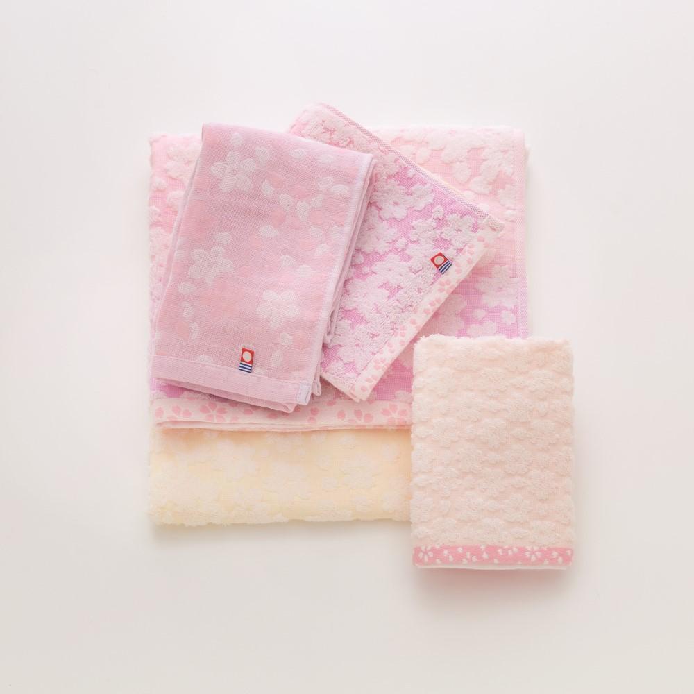 日本Prairie Dog 今治有機綿櫻花經典禮盒組(方巾x1+毛巾x2)