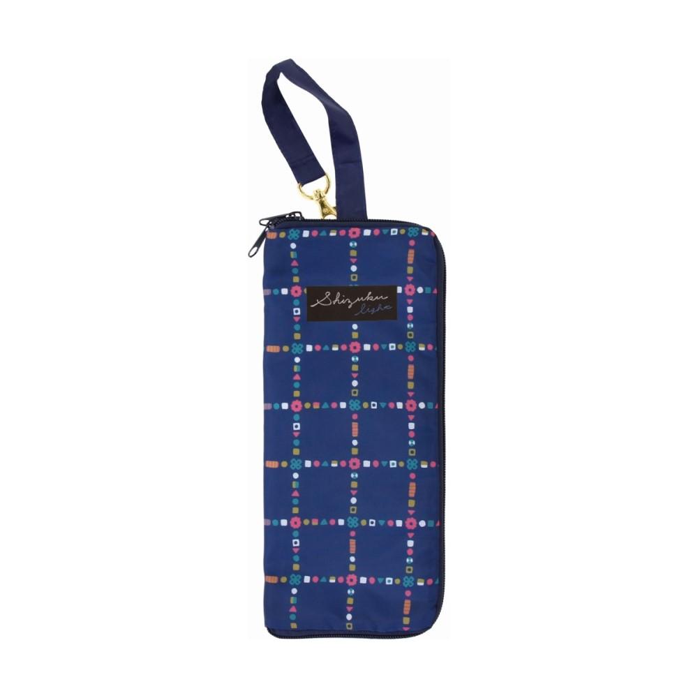 日本Prairie Dog|可調式掛勾絨毛超吸水摺疊傘套-深海藍