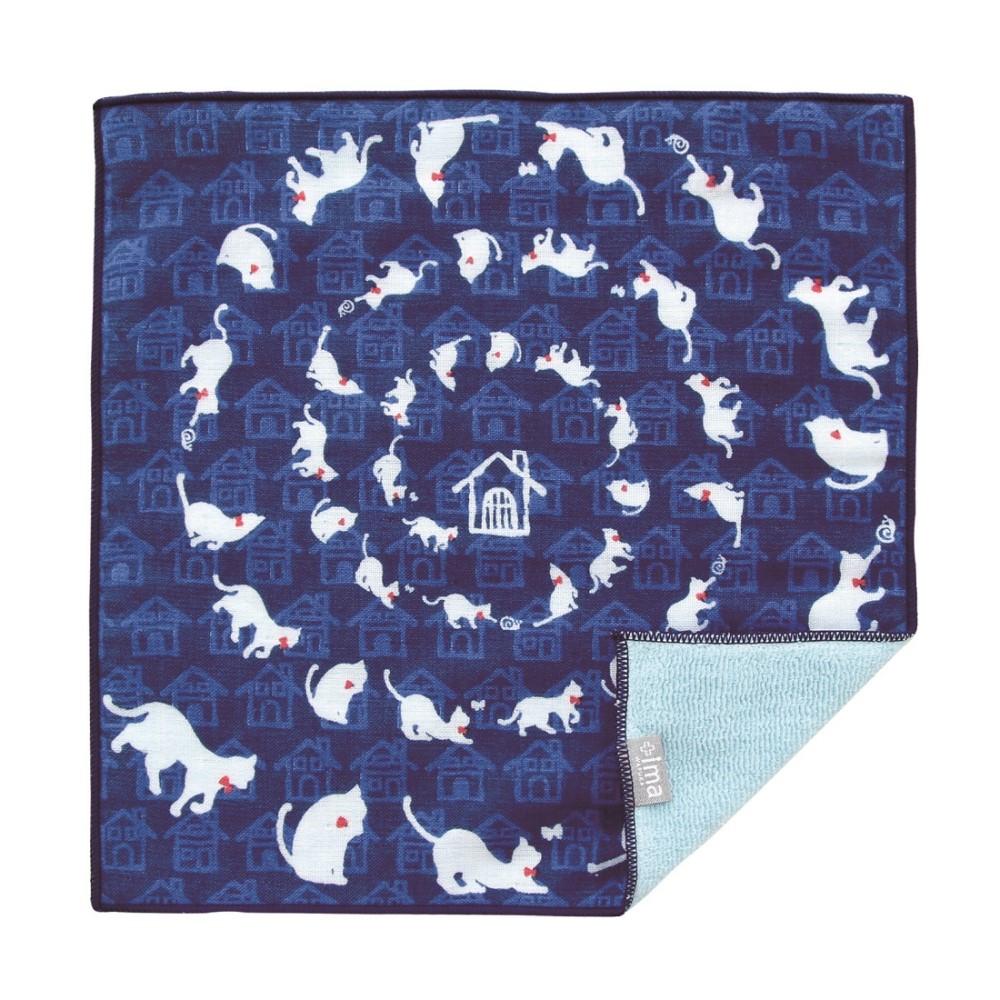 日本Prairie Dog 今治製有機優質純綿方巾-回家路上