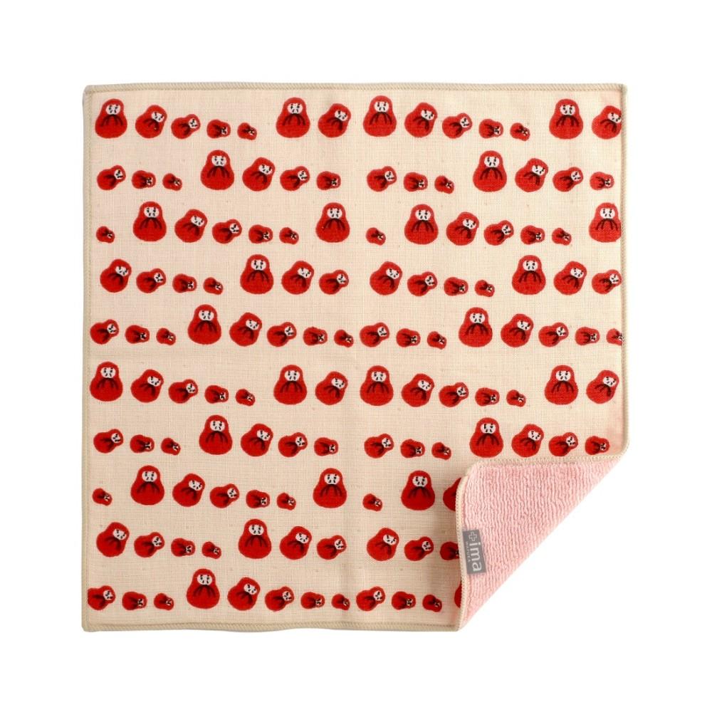 日本Prairie Dog 今治製有機優質純綿方巾-不倒翁