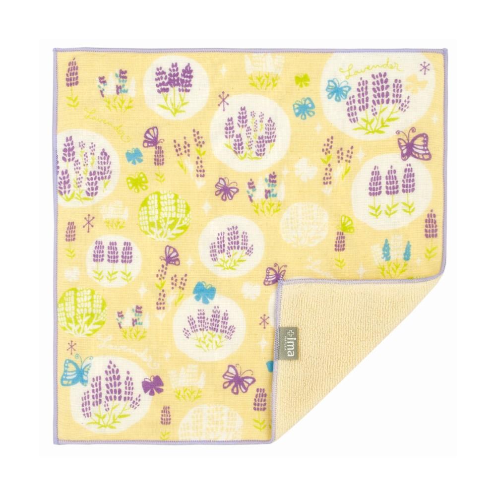 日本Prairie Dog|今治製有機優質純綿方巾-薰衣草與蝶