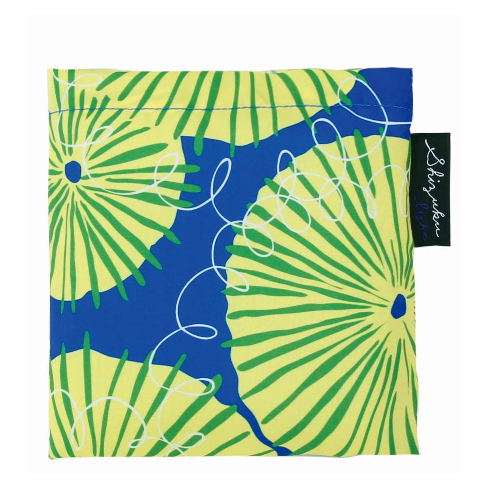 日本Prairie Dog|2Way 隨身收納環保購物袋-蒲公英(藍)