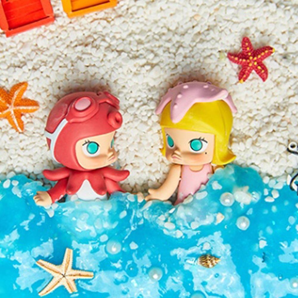 Molly 茉莉女孩 海洋系列公仔(盒裝12入)