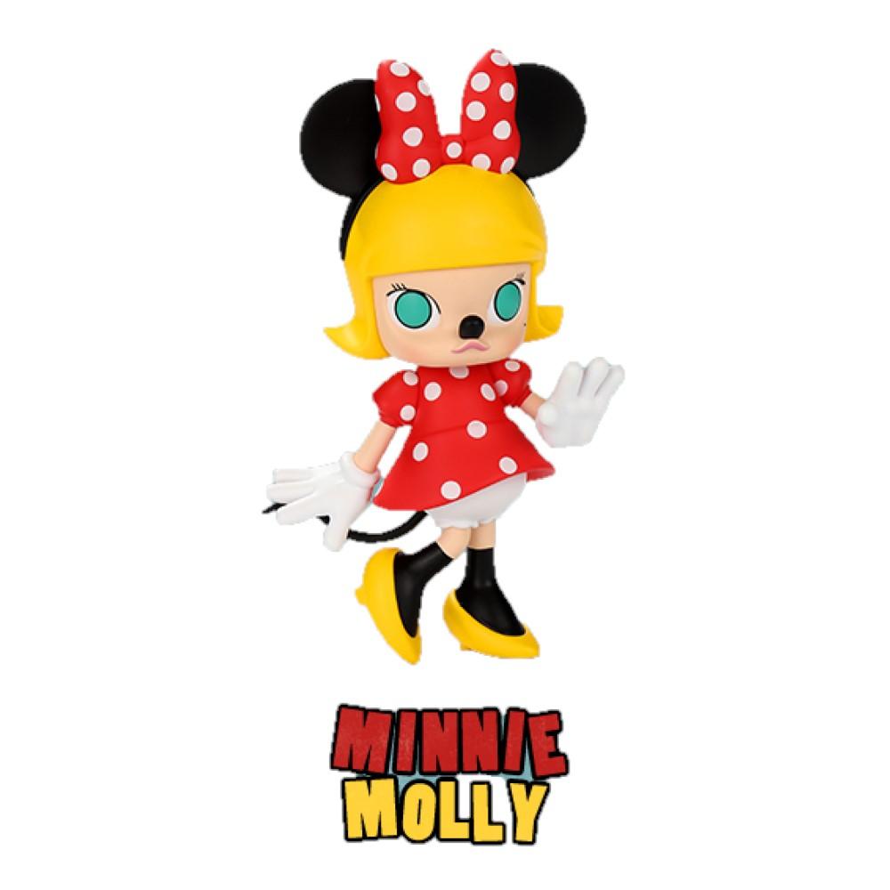 Molly 茉莉女孩 Molly X Minnie 米妮 迪士尼聯名大型公仔