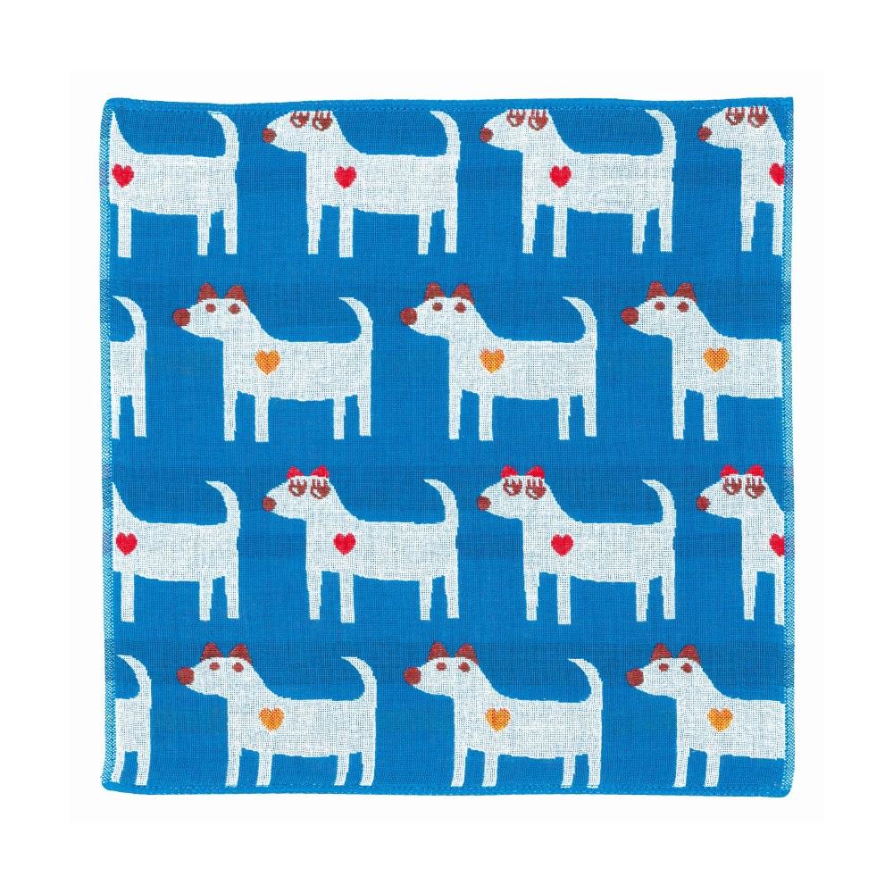 日本Prairie Dog|今治三層紗方巾-狗狗情侶