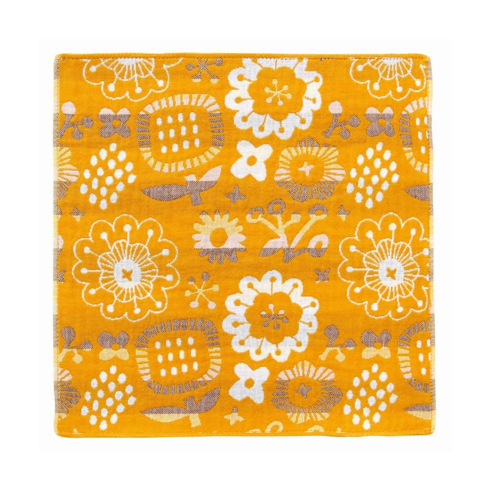 日本Prairie Dog|今治三層紗方巾-漂浮