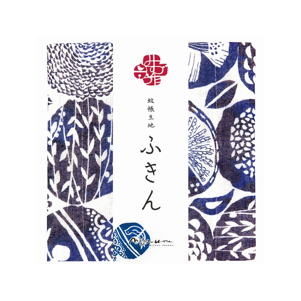 日本Prairie Dog|超吸水廚房擦拭清潔方巾 金子美鈴聯名系列-玲蘭與鳥(M)